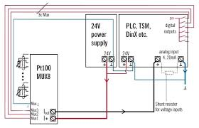 pt100 wiring diagram 3 wire rtd connection to plc at 3 Wire Pt100 Connection Diagram