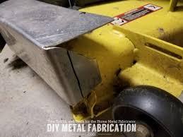 diy mulch plug cover rider zero turn john deere