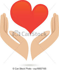 Hands Love Protect Poster Hands Holding Red Heart Love Care Family