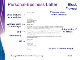 Personal Business Letter Examples Personal Business Letters Ppt Video Online Download