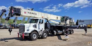 Sold 2017 Terex Crossover 8000 Crane For In Oakville Ontario