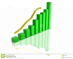 3d Chart Stock Illustration Illustration Of Block Incline