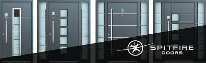 spitfire doors. s-1oo the luxury of an aluminium entrance door spitfire doors i
