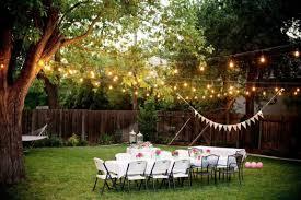 Outdoor Backyard Wedding Ideas For Summer