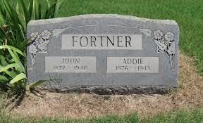 "Mary Adeline ""Addie"" Tucker Fortner (1876-1943) - Find A Grave Memorial"