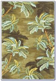 palm tree area rugs the palm tree border outdoor rug throughout palm tree area rugs ideas