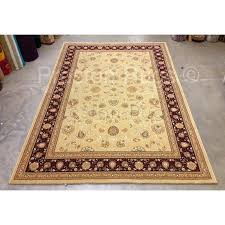 noble art traditional style rug beige cream red persian rugs uk