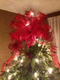 pleasurable make tree topper bow wondrous 69 best toppers images on ideas