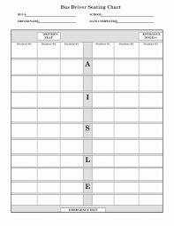 041 Restaurant Seating Chart Template Word For School Bus
