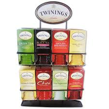 Tea Bag Display Stand Mesmerizing Product Of Twinings Of London Tea Bag Variety Pack With Display