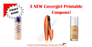 Printable coupons for cover girl
