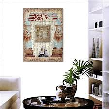 egypt canvas print wall art painting for home decor eastern heritage ancient egyptian pharaoh mummy coffin portrait artwork print wall decorations for
