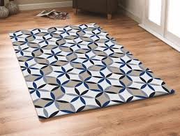pattern blue gray area rug