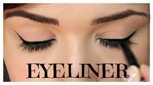how to apply eyeliner pencil cream gel liquid themakeupchair you