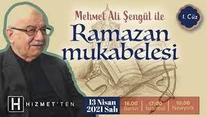 Mehmet Ali Şengül ile 'Ramazan Mukabelesi' başlıyor - Hizmetten