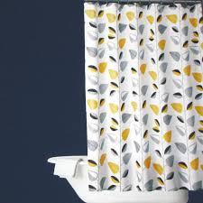 Bathroom Surprising Modern Advance Shower Curtains Target For Navy Blue And Yellow Shower Curtain