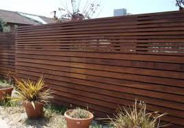 Modern Wooden Fence Modern Wood Fence Image Design Idea And