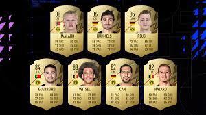 FIFA 22 FUT: BVB-Ratings mit großem Haaland-Upgrade – 88!
