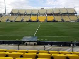 Mapfre Stadium Section 106 Row 5 Home Of Columbus Crew