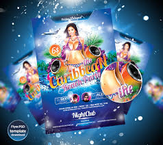 Caribbean Party Flyer Template - April.onthemarch.co