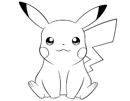 pikachu coloring page pages intended for mega pikachu coloring page