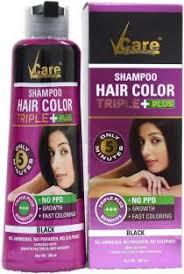 28 Albums Of Vcare Hair Colour Shampoo Triple Plus