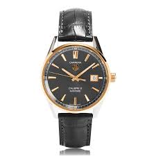 tag heuer carrera watches the watch gallery® tag heuer carrera steel and gold mens watch war215c fc6336