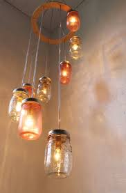 Do It Yourself Chandeliers Homemade Light Fixture Ideas Diy Pendant