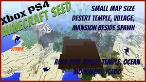 minecraft xbox one map size minecraft xbox small map seeds