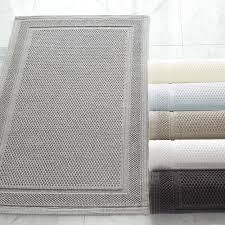 athens textured cotton loop bath rug