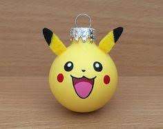 Pokemon Christmas Ornaments by HeatherINwAnderland on Etsy ...