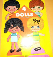 21 4 push out dolls to dress published by lowe in 1976 the book is uncut and in new condition great paper dolls to share with a young child 4 00