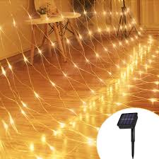 Fishing String Lights Amazon Com Solar Lights Led Fishing Net Lights 3m2m