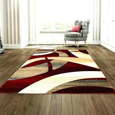 brown and red rugs abstract hand woven tan area rug cream black contemporary free pertaining to