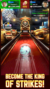 bowling king on the app