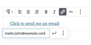 Email Me Make A Link Open An Email When Clicked Wordpress Knowledgebase