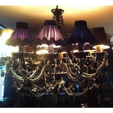 french chandelier shades