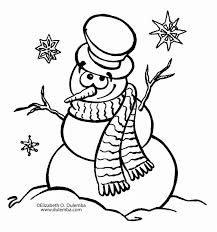 Snowman Coloring Page 777