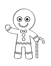 Gingerbread Coloring Pages Gingerbread Gingerbread Baby Coloring