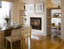 Radiant Ambience Impact Fireplace Sided Fireplace in Double Sided Fireplace