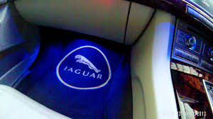 Jaguar Logo Puddle Lights Jaguar Xf Logo Ghost Lights Youtube