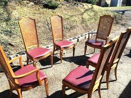 thomasville dining sets dining chairs set of six cane chairs attainable vine cane back dining chairs dining room chairs