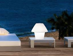 image of outdoor table lamps for porch