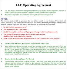 template for llc operating agreement 29 images of llc partnership operating agreement template