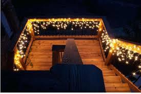 diy deck lighting. Fine Lighting Icicle Lights Create An Inviting Outdoor Staircase Diy Deck Lighting Ideas  Airfield Jobs In Uae To Diy Deck Lighting B