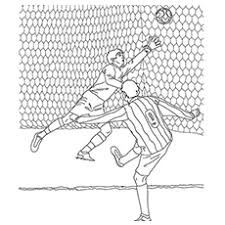 Soccer coloring pages for kids. Soccer Coloring Pages Free Printables Momjunction