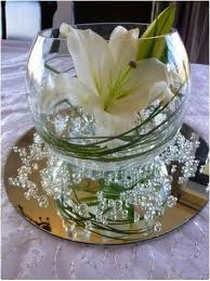 several decorative fish bowl decorations ideas for weddings~