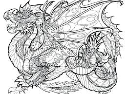 Dragon Coloring Pages For Adults Free Coloring For Babies Amvame