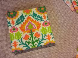 diy patio seat cushion with waverly santa maria mimosa fabric