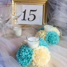 tissue paper flower centerpiece ideas tissue paper flower centerpiece candle holder centerpiece if youre